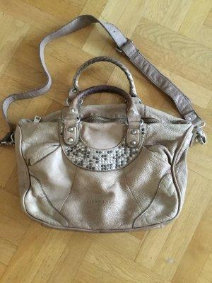 Liebeskind Berlin Carry Bag beige leather