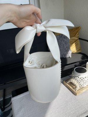 Mango Borsetta a cestino bianco