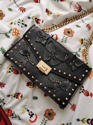 Tasche von Mango schwarz