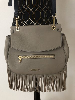 Marc Cain Fringed Bag brown-taupe