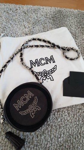 MCM Mini sac noir-argenté
