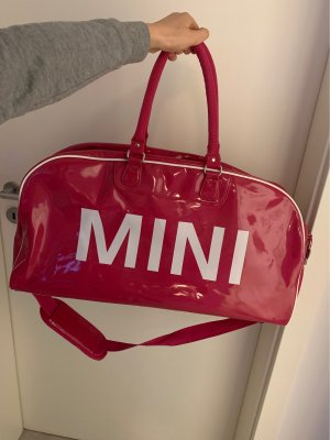 Mini Reistas magenta-wit