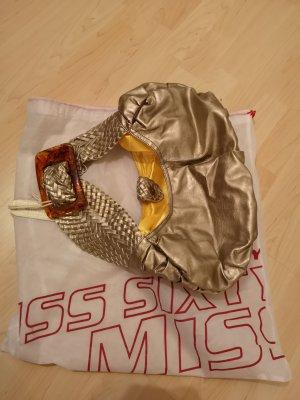 Tasche von Miss Sixty, Gold, Metallic, NEU, Umhängetasche