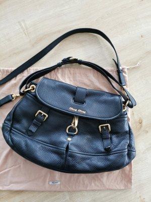 Miu Miu Crossbody bag black-gold-colored