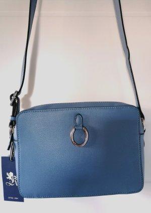 Otto Kern Gekruiste tas lichtblauw