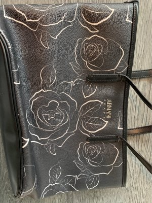 Armani Jeans Handbag black-white