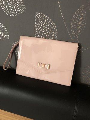Ted Baker sandale cuir Lavage Sac Organisateur Porte-carte ensemble cadeau rose pâle Argent