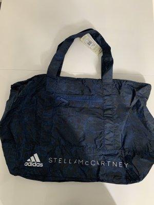 Adidas by Stella McCartney Bolsa de gimnasio azul oscuro