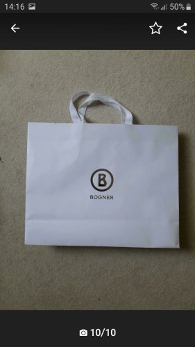 Bogner Borsellino bianco