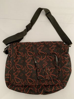 Carpisa Laptop bag dark green-red