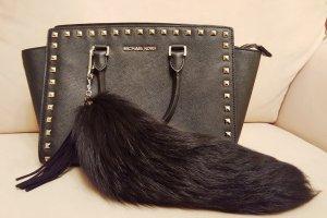Taschenanhänger Bag Charm Pelzanhänger Fuchs