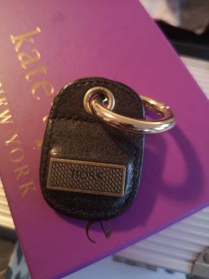 Taschenanhänger Boss Leder