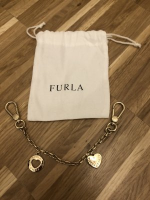 Furla Key Chain gold-colored