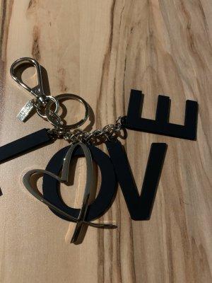 Key Chain black-gold-colored