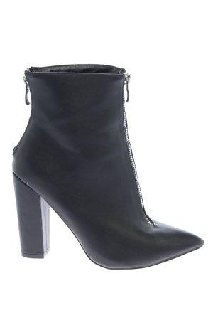tata italia Reißverschluss-Stiefeletten schwarz Casual-Look