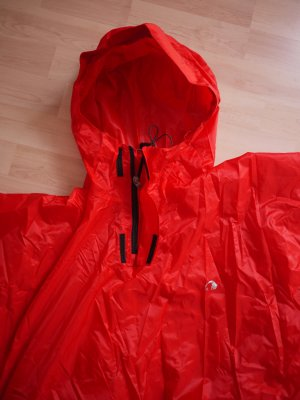 Tatonka Rain Poncho red polyester