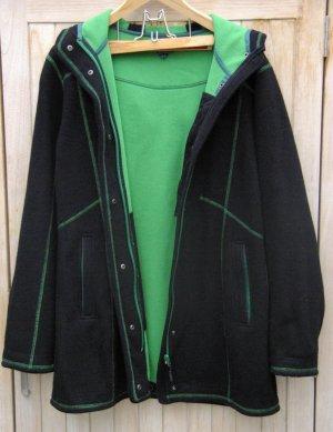 Tatonka Ibarra W's Coat winddichte warme Fleecejacke in Strickoptik, Gr.42