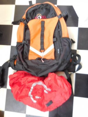 Tatonka Trekking Backpack orange