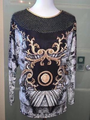 Tatu Tunika Kleid Leo Vintage  in gr 40 Farbe Multicolour Strech  Strass
