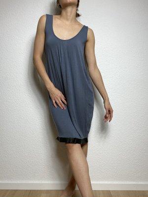 Taubenblaues Jerseykleid