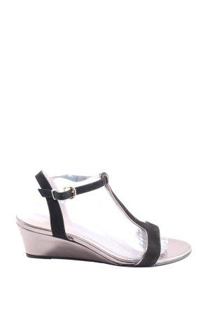 Taupage T-Strap Sandals black elegant
