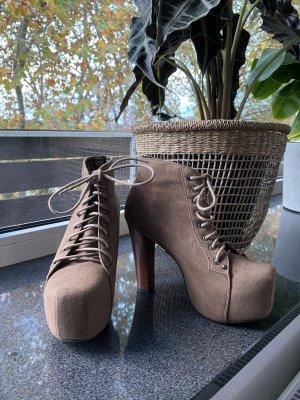 Botas de tobillo multicolor