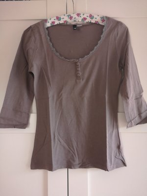 Taupe-farbenes Shirt