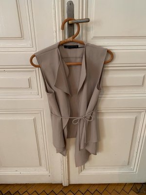 Taupe Gilet