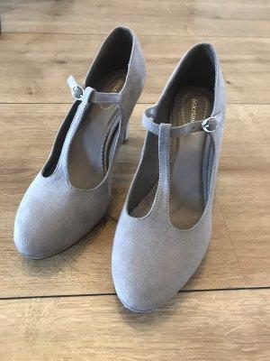 Graceland Zapatos de tacón con barra en T taupe