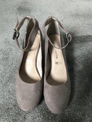 Tamaris Décolleté modello chanel marrone-grigio