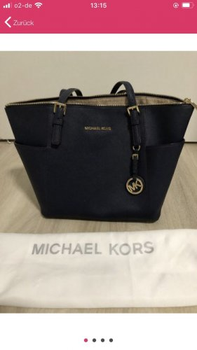 Michael Kors Shopper donkerblauw