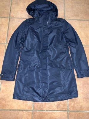 Tchibo / TCM Heavy Raincoat dark blue