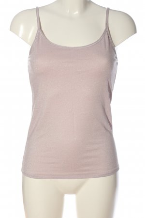 tchibo Camisole wolwit-zilver gestippeld casual uitstraling