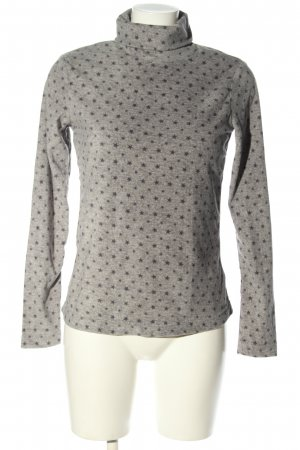 tchibo Fleece Jumper light grey-brown allover print casual look