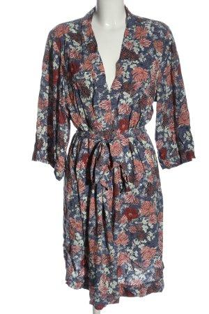 tchibo Kimono blu-rosa stampa integrale stile casual