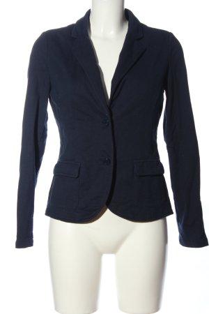 tchibo Kurz-Blazer blau Business-Look