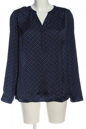 tchibo Langarm-Bluse Allover-Druck Casual-Look