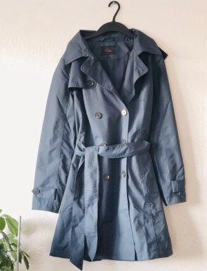 tchibo Manteau de pluie gris ardoise