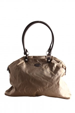 tchibo Travel Bag brown-cream casual look