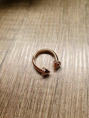 Tchibo Statement Ring roségold Swarovski Kristalle