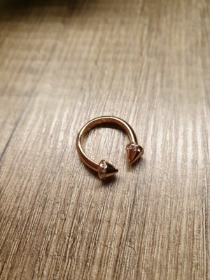 tchibo Statement Ring rose-gold-coloured