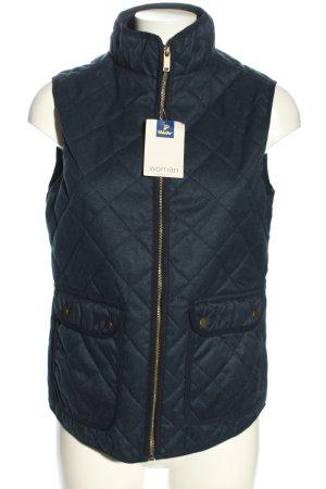 tchibo Gewatteerd vest blauw quilten patroon casual uitstraling