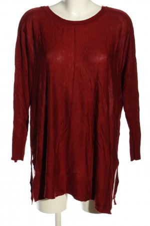 tchibo Strickpullover rot Casual-Look
