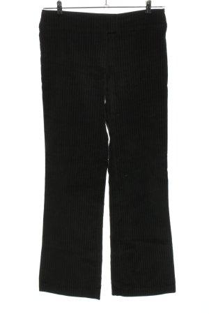 Tchibo / TCM Anzughose schwarz-weiß Allover-Druck Business-Look