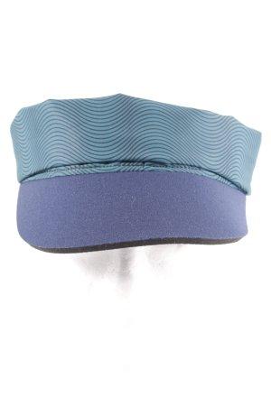Tchibo / TCM Gorra de béisbol azul oscuro-verde oscuro estampado a rayas