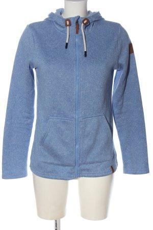 Tchibo / TCM Fleece Jackets blue flecked casual look