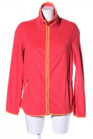 Tchibo / TCM Fleecejacke rot Casual-Look
