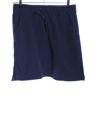 Tchibo / TCM Rok met hoge taille blauw casual uitstraling