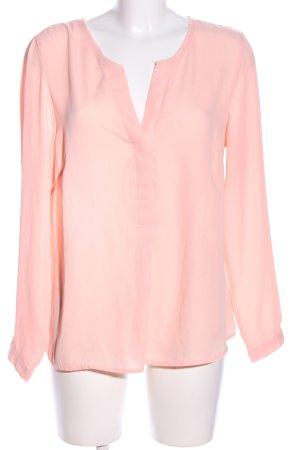 Tchibo / TCM Langarm-Bluse pink Casual-Look