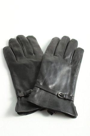 Tchibo / TCM Lederhandschuhe schwarz Casual-Look